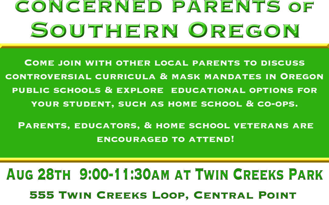 Meet-up for Local Parents to Discuss Public School Concerns and Explore Education Options