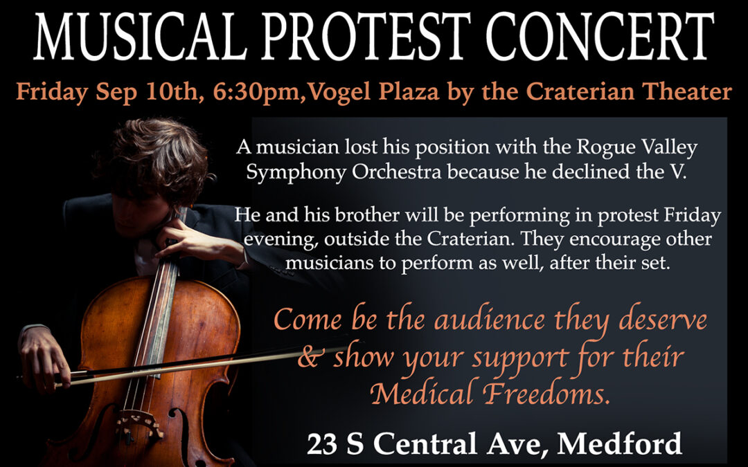 Medical Freedom Musical Concert This Friday in Medford